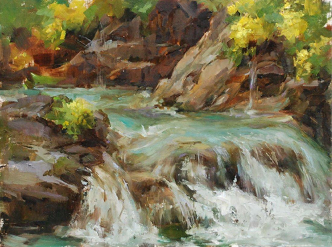 """""""South Tyrol Stream"""", Stephanie Birdsall"""