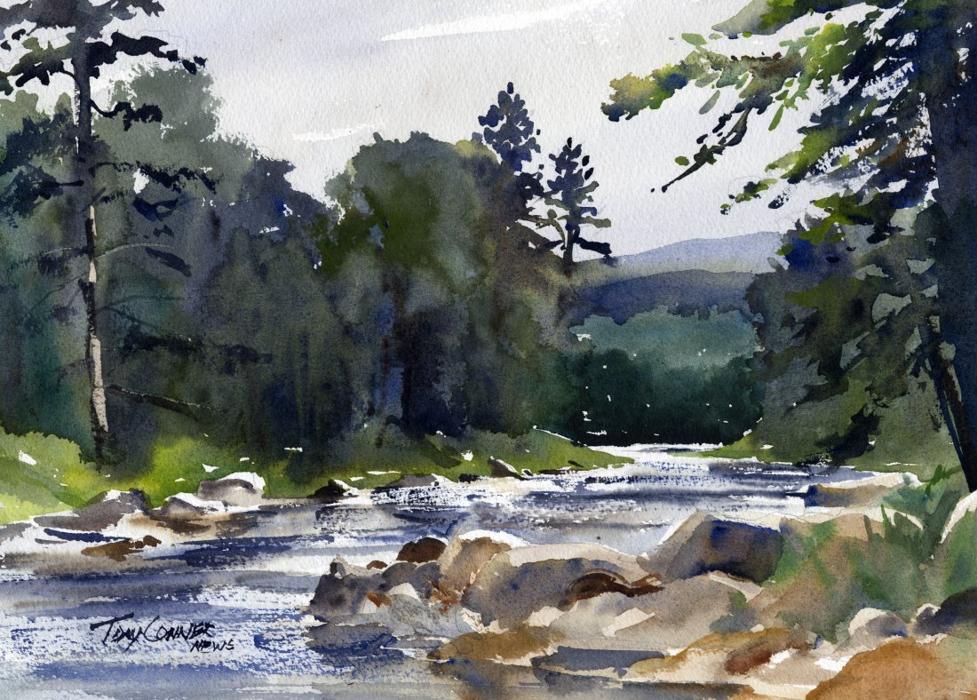 """""""West River Near South Londonderry"""", Tony  Conner"""