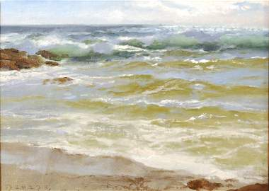 """"""" Sweeping the Shore"""", Don Demers"""