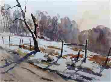 """ Winter Light Garrison "", Amanda Epstein"