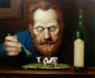 "Richard Lithgow, ""The Vegetarian"""