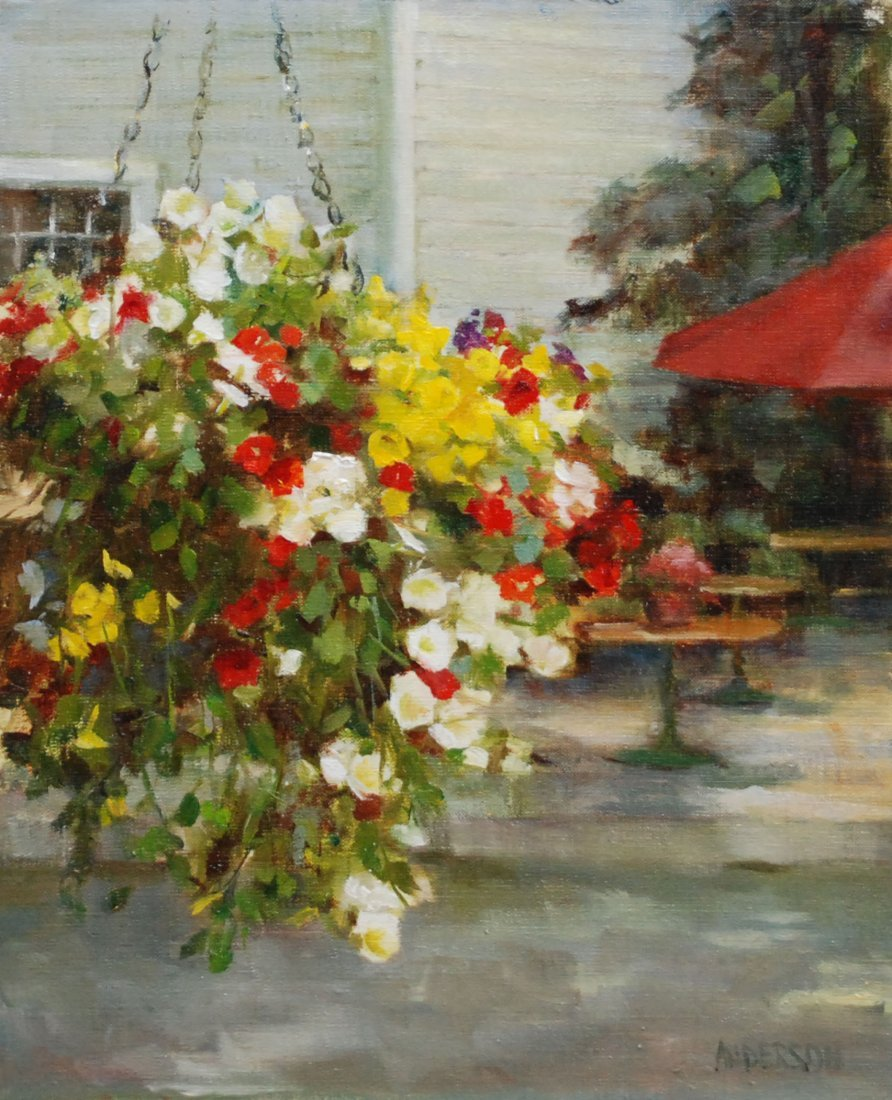 """""""The Flower Shop"""", Kathy Anderson"""