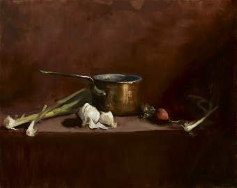 "Sharon Pearsall, ""Copper & Garlic"""