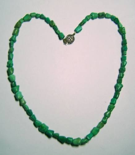 3: VINTAGE PERSIAN TURQUOISE NECKLACE