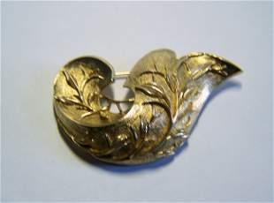 vintage sarah cov brooch pin