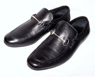 569: Brand New Gucci Men's leather Shoes