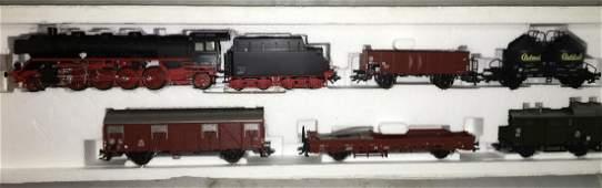 Marklin HO Scale Steam Train Set