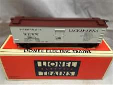 Lionel 51301 O Gauge Lackawanna Reefer Car