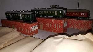 Vintage Marklin HO Scale Passenger Car Assortment