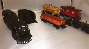 Lionel Prewar 258 O Gauge Steam Train Set