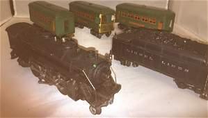 Lionel Prewar 224E O Gauge Steam Train Set