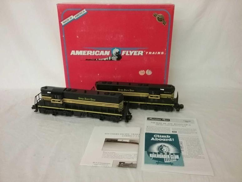 American Flyer NKP S Gauge GP9 Diesel Set