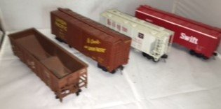 Weaver O Scale Freight Cars