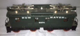 New Haven O Scale Brass Electric Locomotive