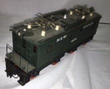 New Haven O Scale Brass Electric Locomotive - 2