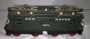 New Haven O Scale Brass Electric Locomotive - 3
