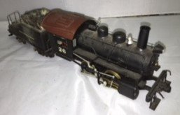 B&O O Scale Brass Steam Engine and Tender - 2