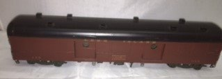 NJ Custom Brass Long Island O Scale Baggage Car