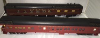 PRR O Scale Heavyweight Passenger Cars - 2