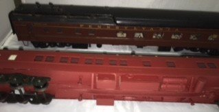 PRR O Scale Heavyweight Passenger Cars - 4