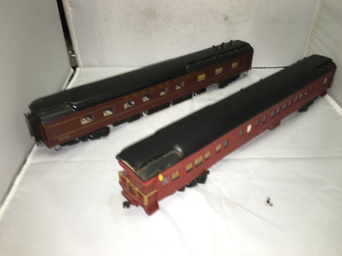 PRR O Scale Heavyweight Passenger Cars - 7