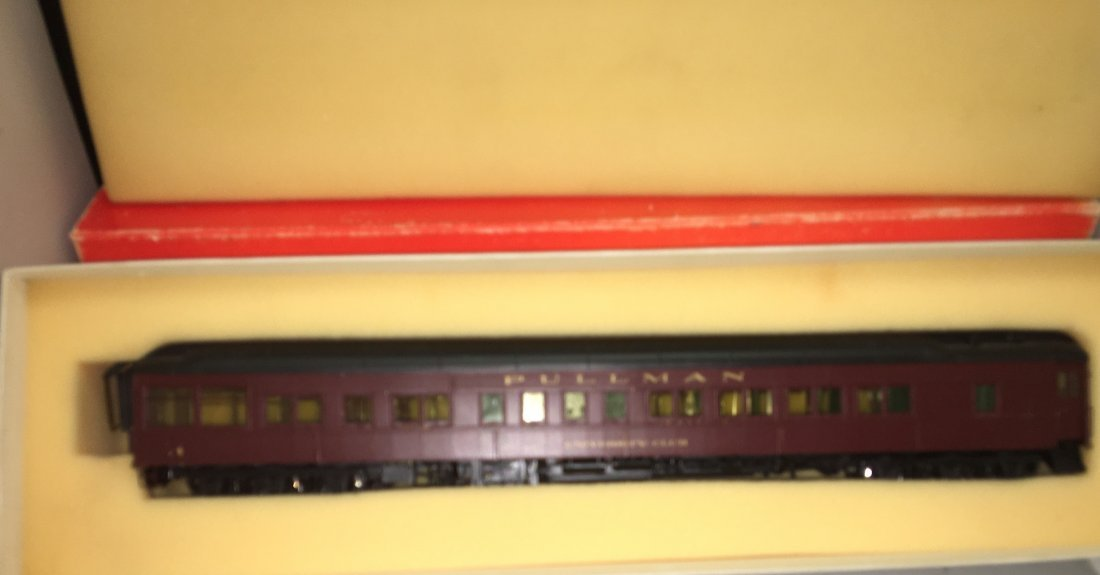 Precision Scale PRR O Scale Brass Dining Car