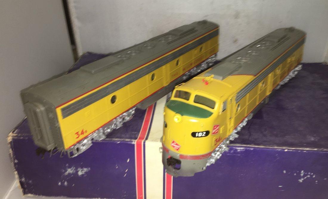 NJ Custom Brass MR O Scale E8 AB Diesel Engine Set