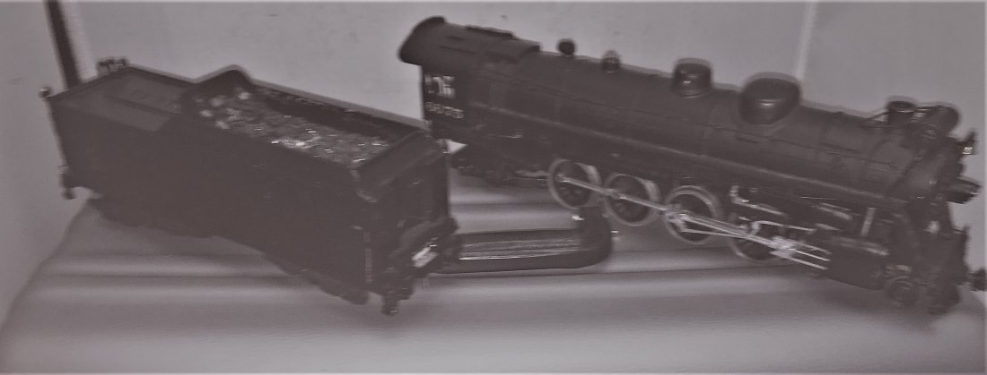 Adams Brass O Scale Mountain Steam Engine and Tender