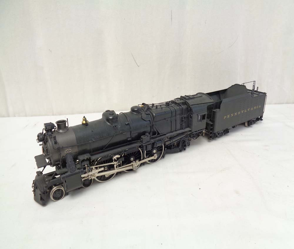 D&O Models PRR O Scale Brass Pacific Steam Engine and
