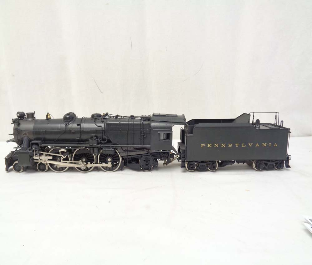 D&O Models PRR O Scale Brass Pacific Steam Engine and - 2