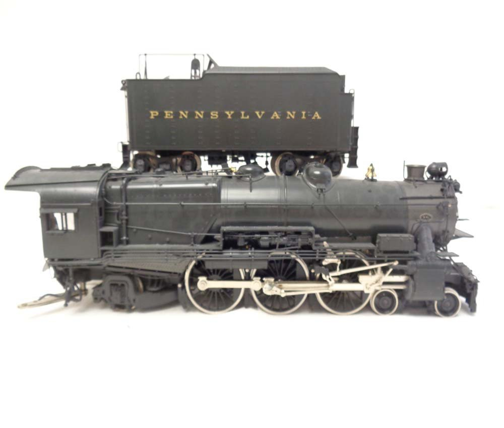 D&O Models PRR O Scale Brass Pacific Steam Engine and - 5