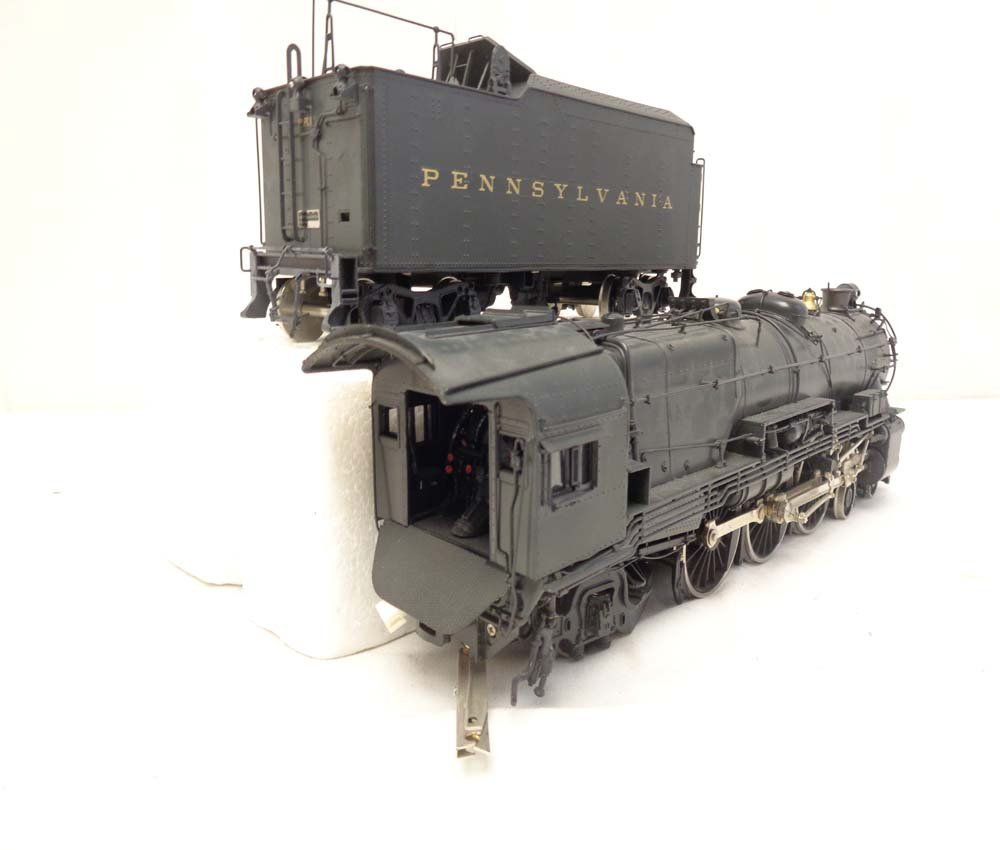 D&O Models PRR O Scale Brass Pacific Steam Engine and - 6