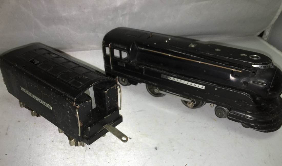 Lionel Prewar 238 O Gauge Steam Engine and Tender