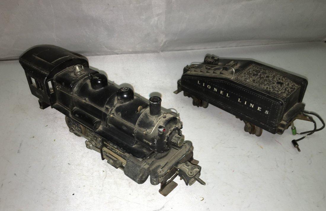 Lionel Prewar 201 O Gauge Steam Engine and Tender
