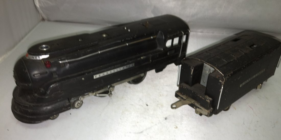 Lionel Prewar 238 O Gauge Streamlined Steam Engine and