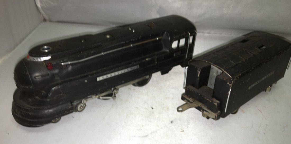 Lionel Prewar 238 O Gauge Streamlined Steam Engine and