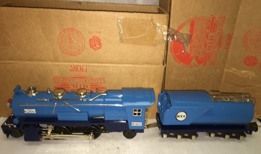 MTH Lionel 263E O Gauge Blue Comet Steam Engine and