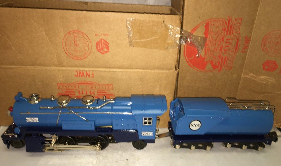 MTH Lionel 263E O Gauge Blue Comet Steam Engine and