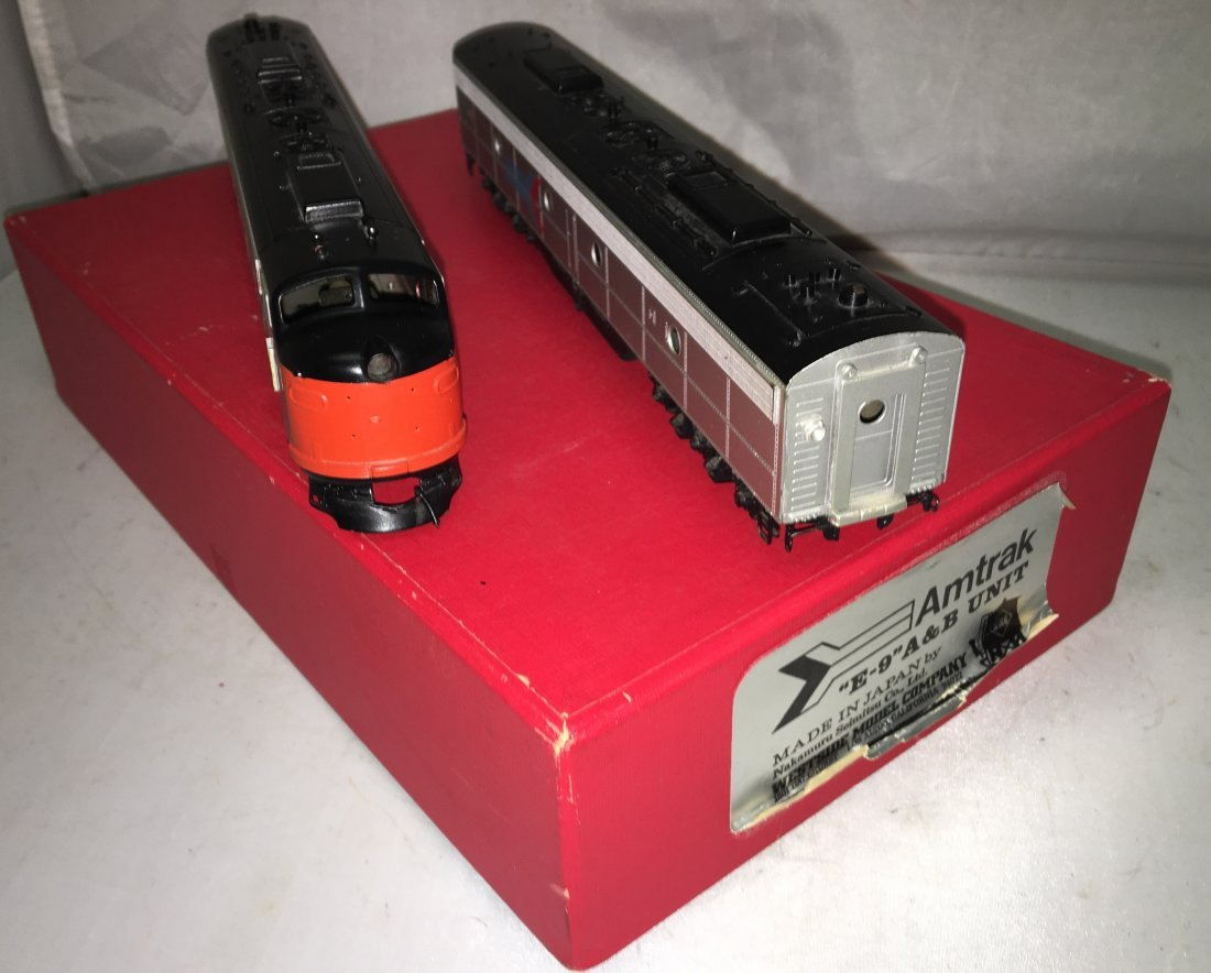 Westside Brass Amtrak HO Scale E9 AB Diesel Engine Set
