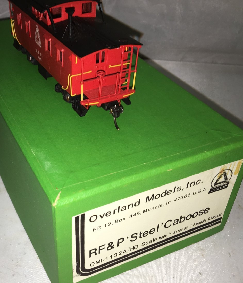 Overland Brass RFP HO Scale Steel Caboose