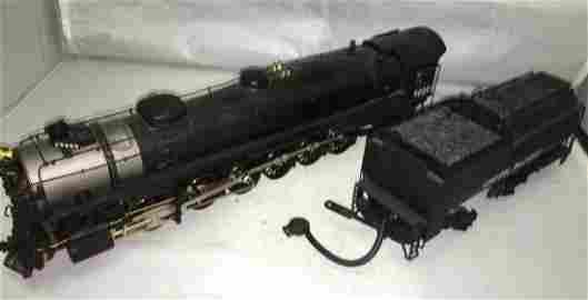 Sunset Brass UP O Gauge 4-12-2 Steam Engine and Tender