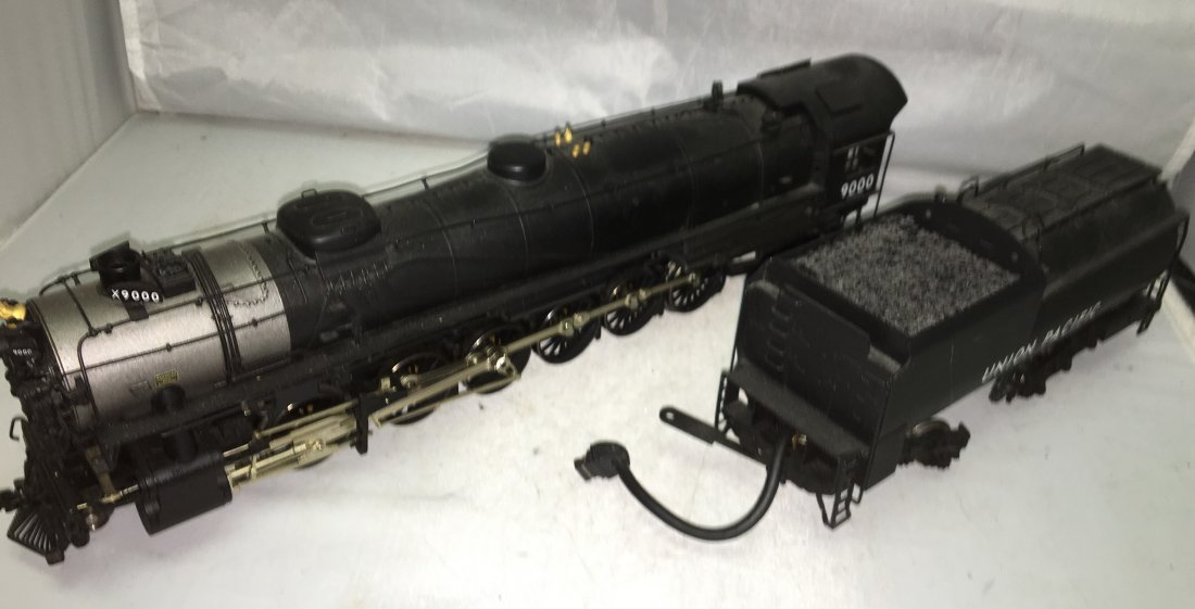 Sunset Brass UP O Gauge 4-12-2 Steam Engine and Tender