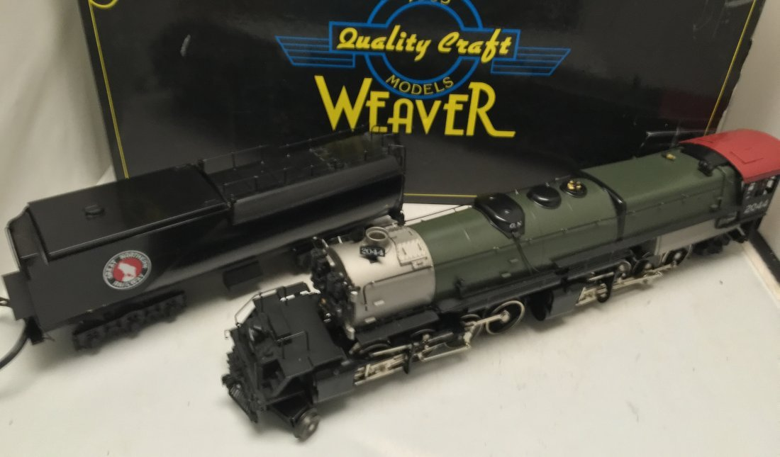 Weaver Brass GN O Gauge R-2 Articulated Steam Engine