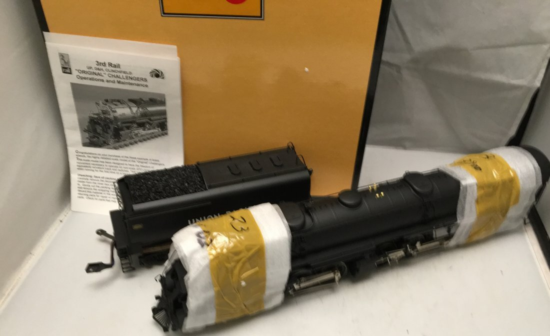 Sunset Brass UP O Gauge Challenger Articulated Steam