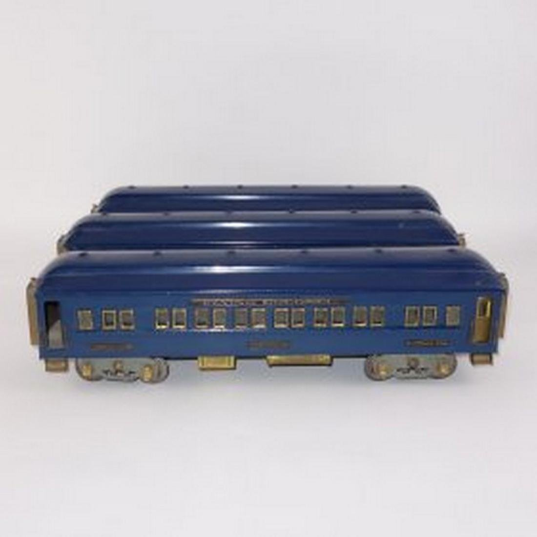 American Flyer Presidents Wide Gauge Passenger Cars