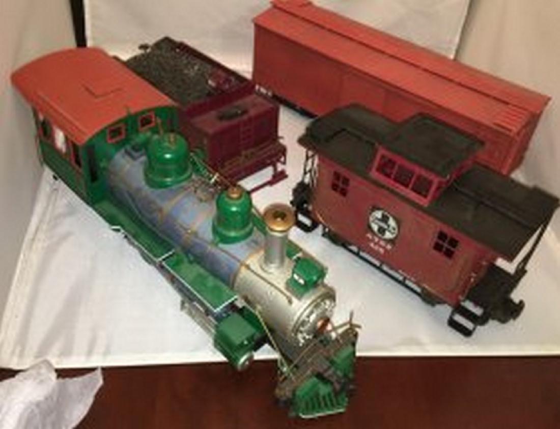 Bachmann  G Scale Steam Freight Train