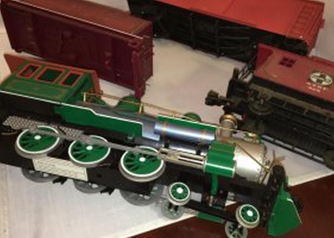 Bachmann  G Scale Steam Freight Train - 4