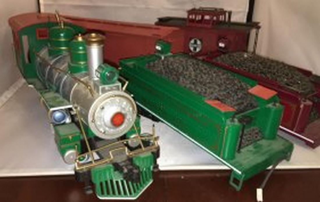 Bachmann  G Scale Steam Freight Train - 6