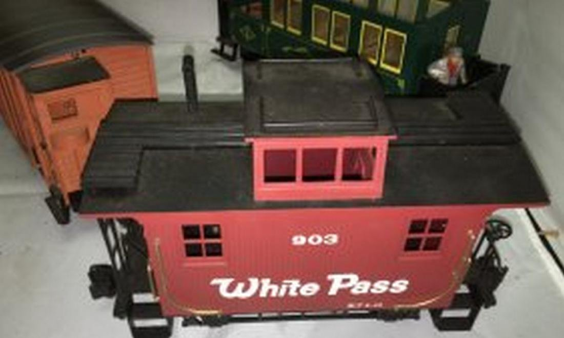 Bachmann  G Scale Steam Freight Train - 8