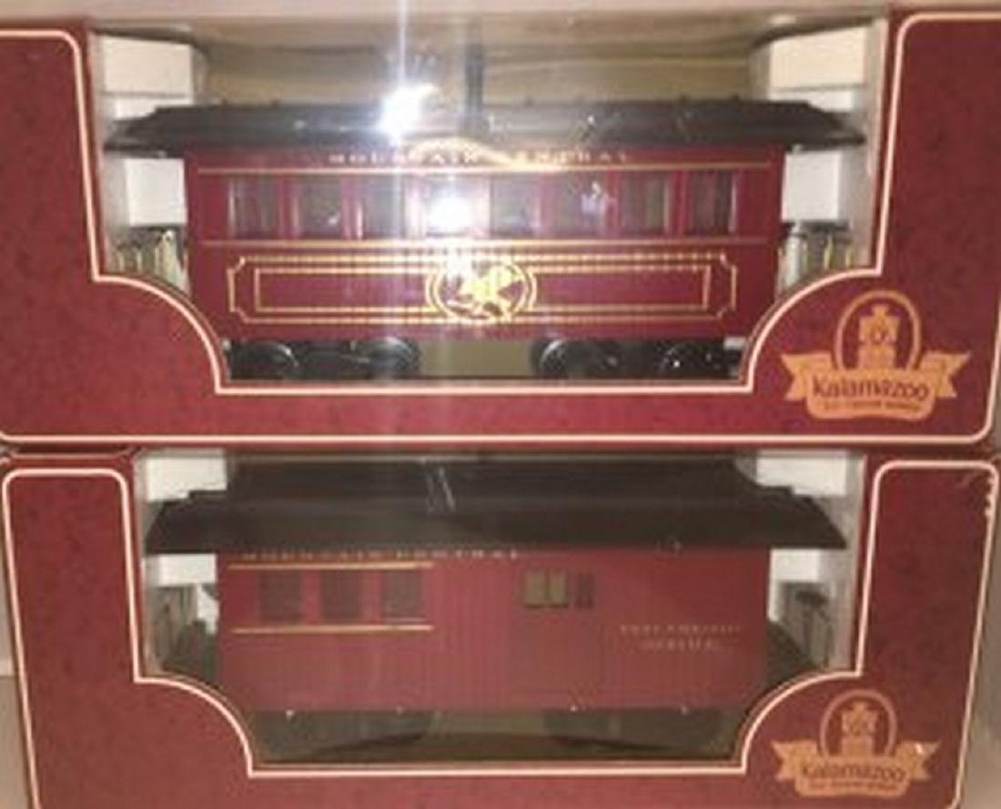 Kalamazoo Mountain Central G Gauge Passenger Cars